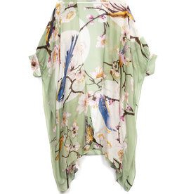 One hundred Stars Trowover BLOESEM VOGEL aqua