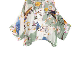 One hundred Stars Kimono BLOESEM VOGEL aqua