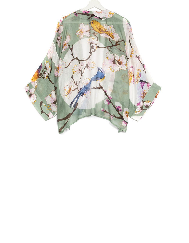 One hundred Stars Kimono BLOESEM VOGEL aqua