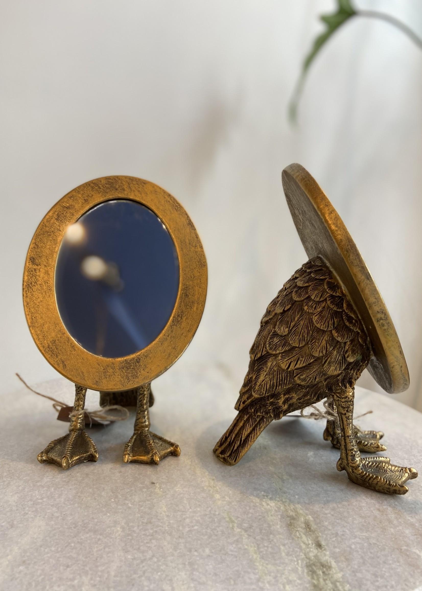 Chehoma Spiegel op eendenvoetjes 12.5 cm