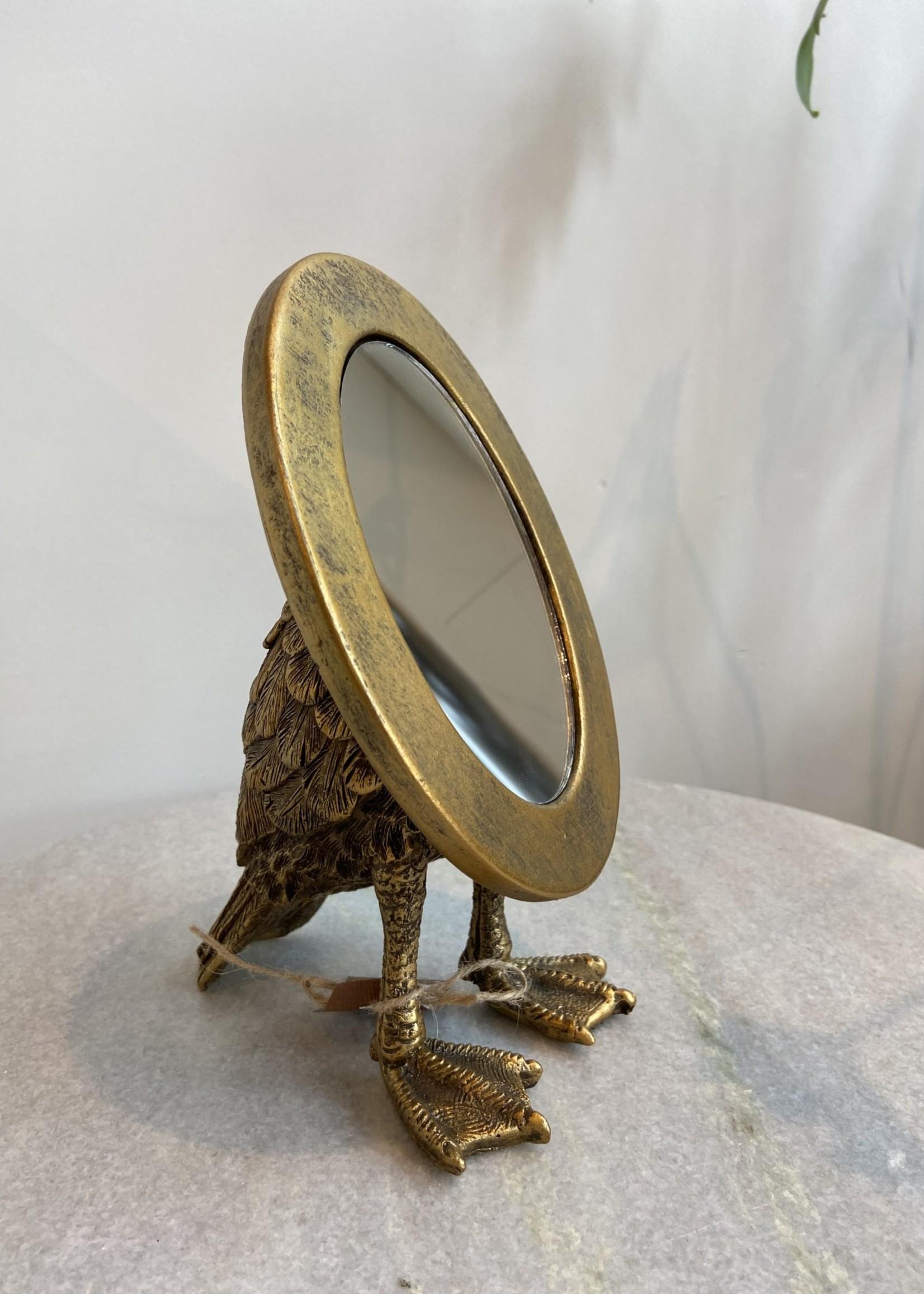 Chehoma Spiegel op eenden voetjes 12.5 cm