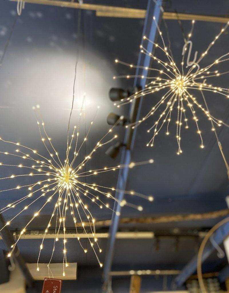 Lightstylelondon Starburst lamp ZILVER