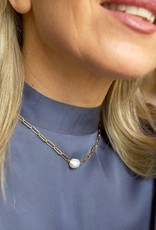 Lisa Angel Ketting of dubbele armband met PAREL