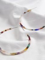 Lisa Angel Oorbellen  van gekleurd kunsthars