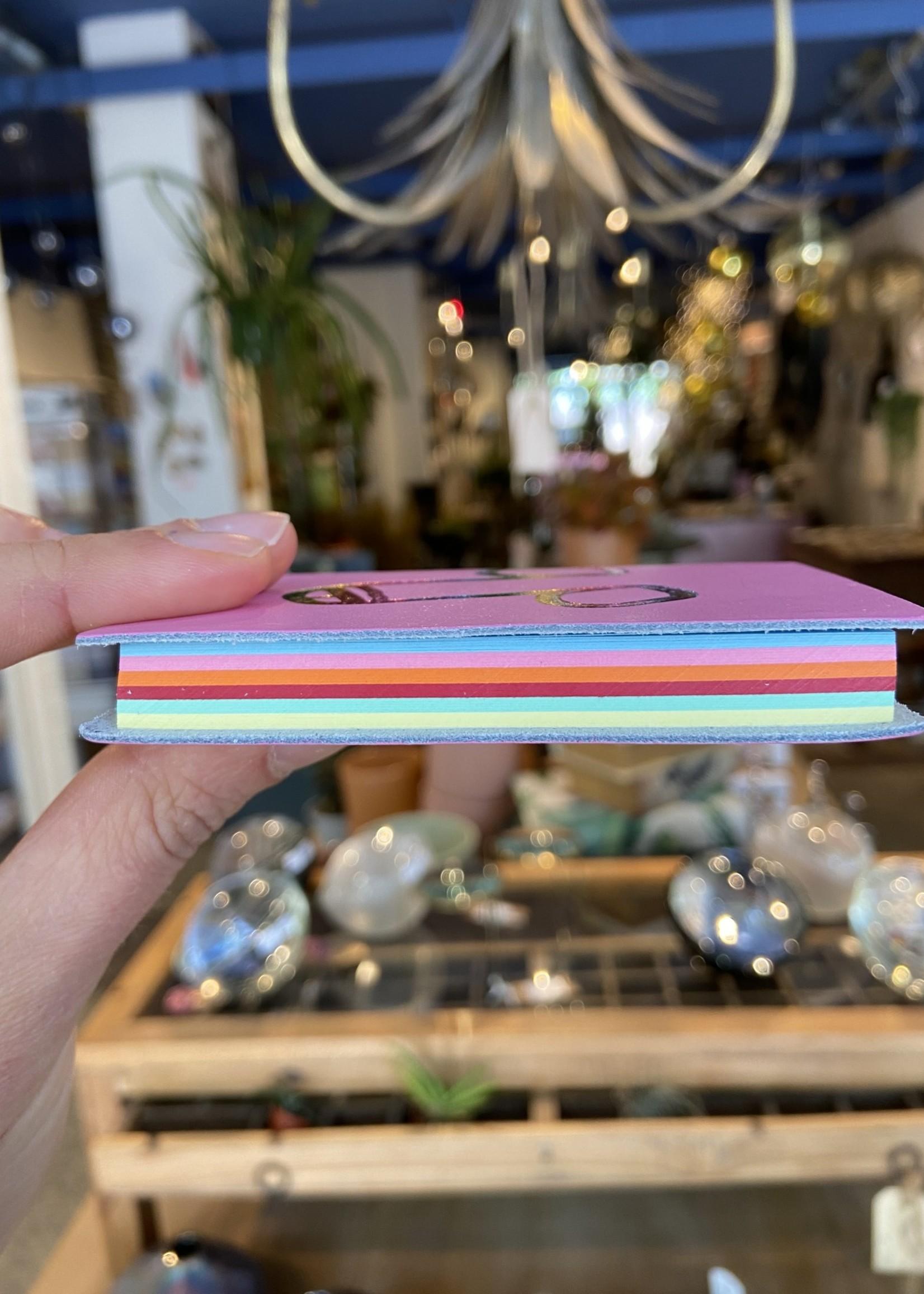 ARK colour design Notitieboekje piemel ROZE