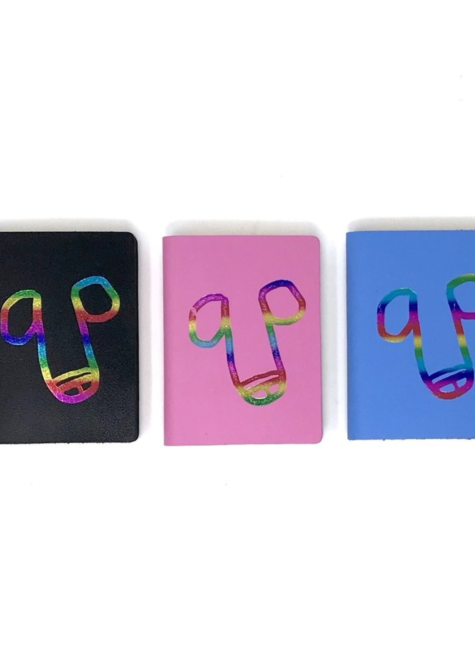 ARK colour design Notitieboekje piemel ZWART