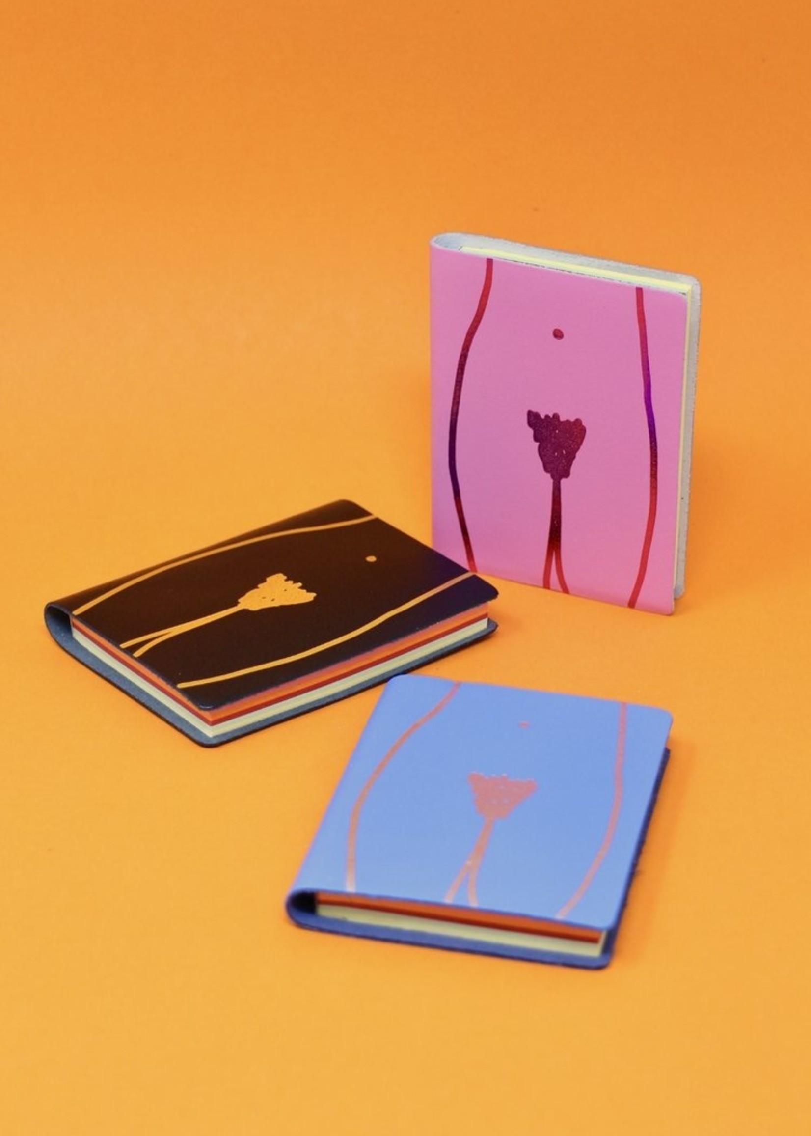 ARK colour design Notitieboekje vagina ROZE