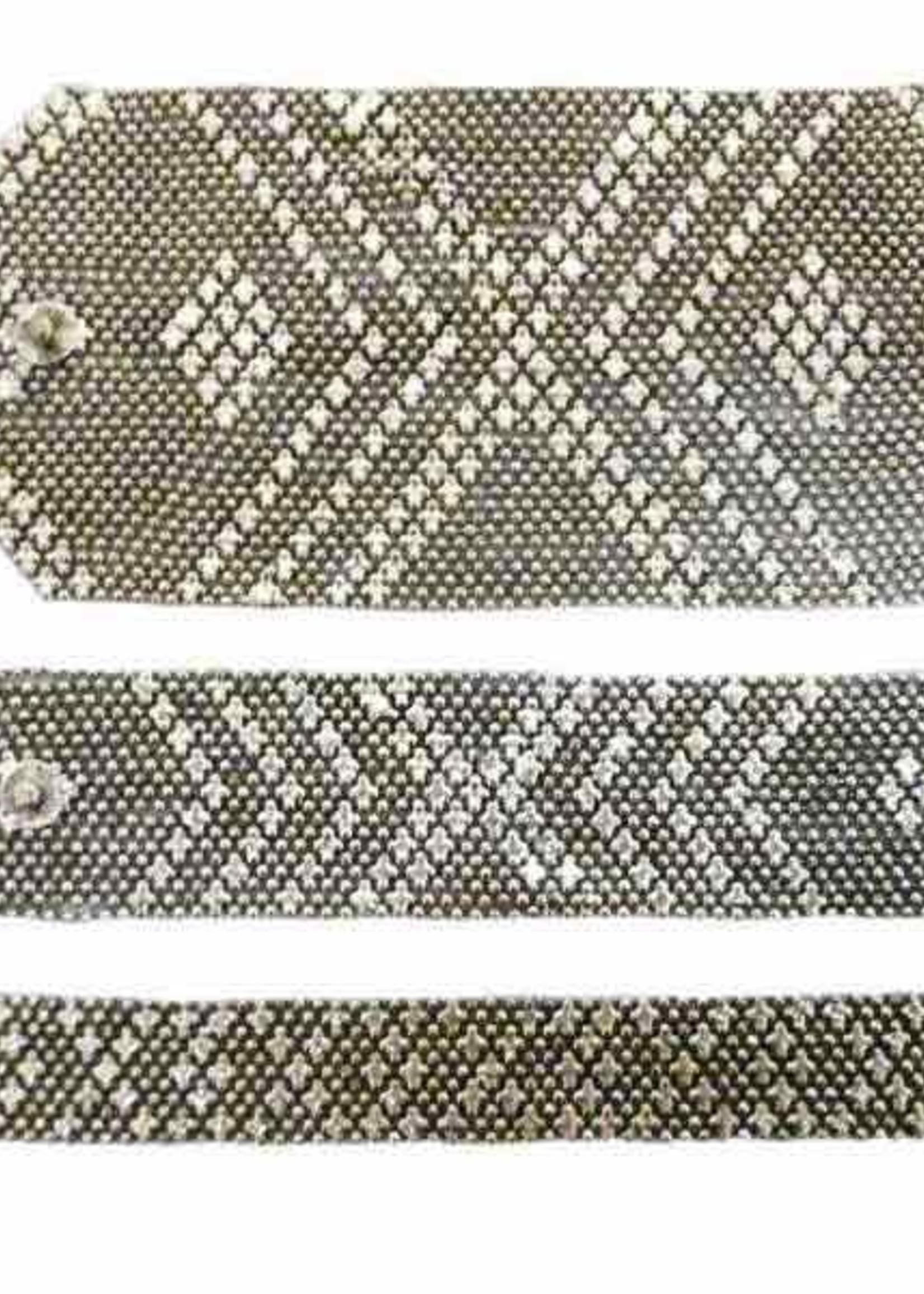 Mondo E Colori Armband 3.5 cm hoog ZILVER