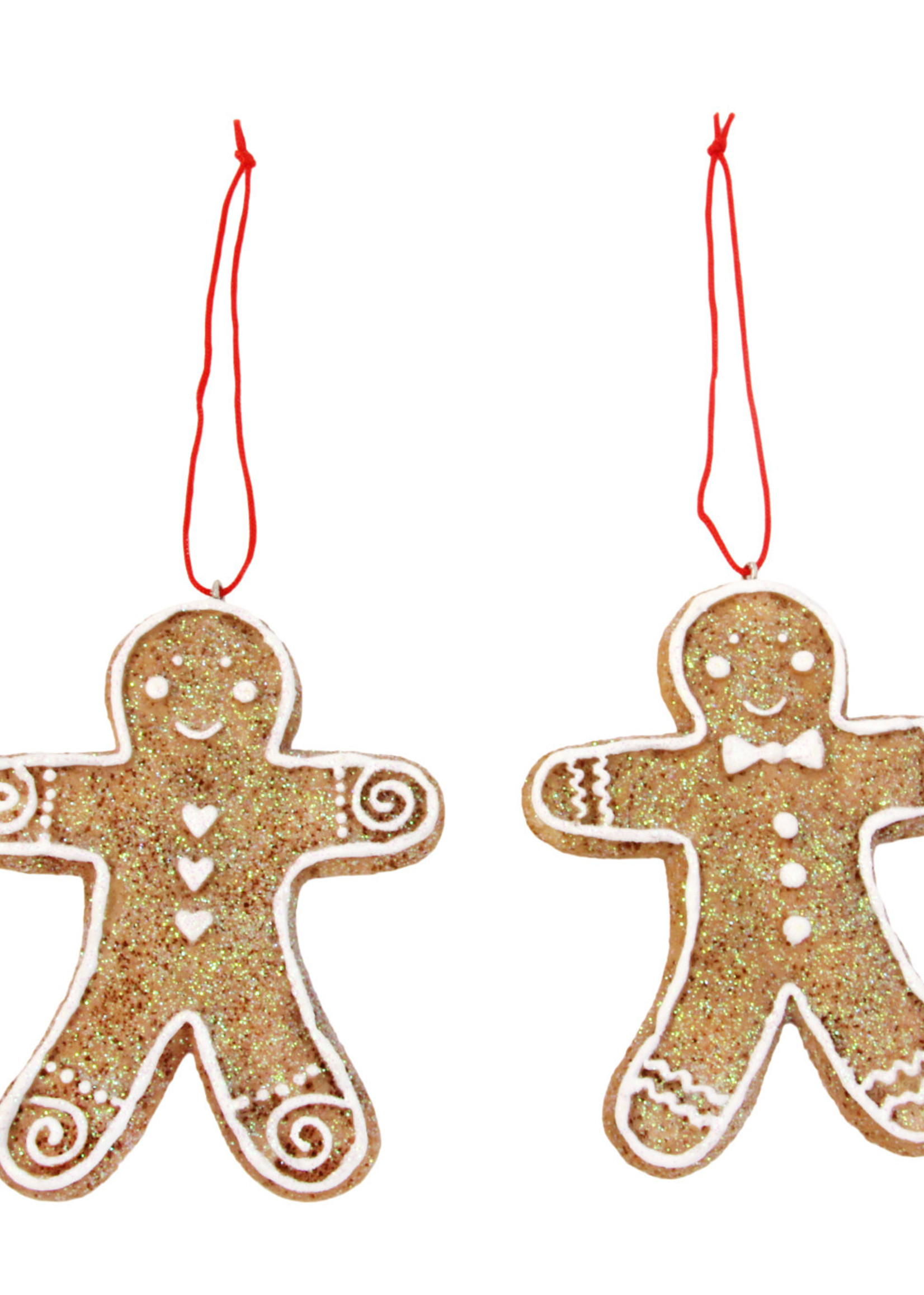Gisela Graham Hanger gingerbreadman 8cm