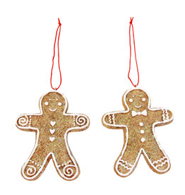 Gisela Graham Hanger gingerbreadman