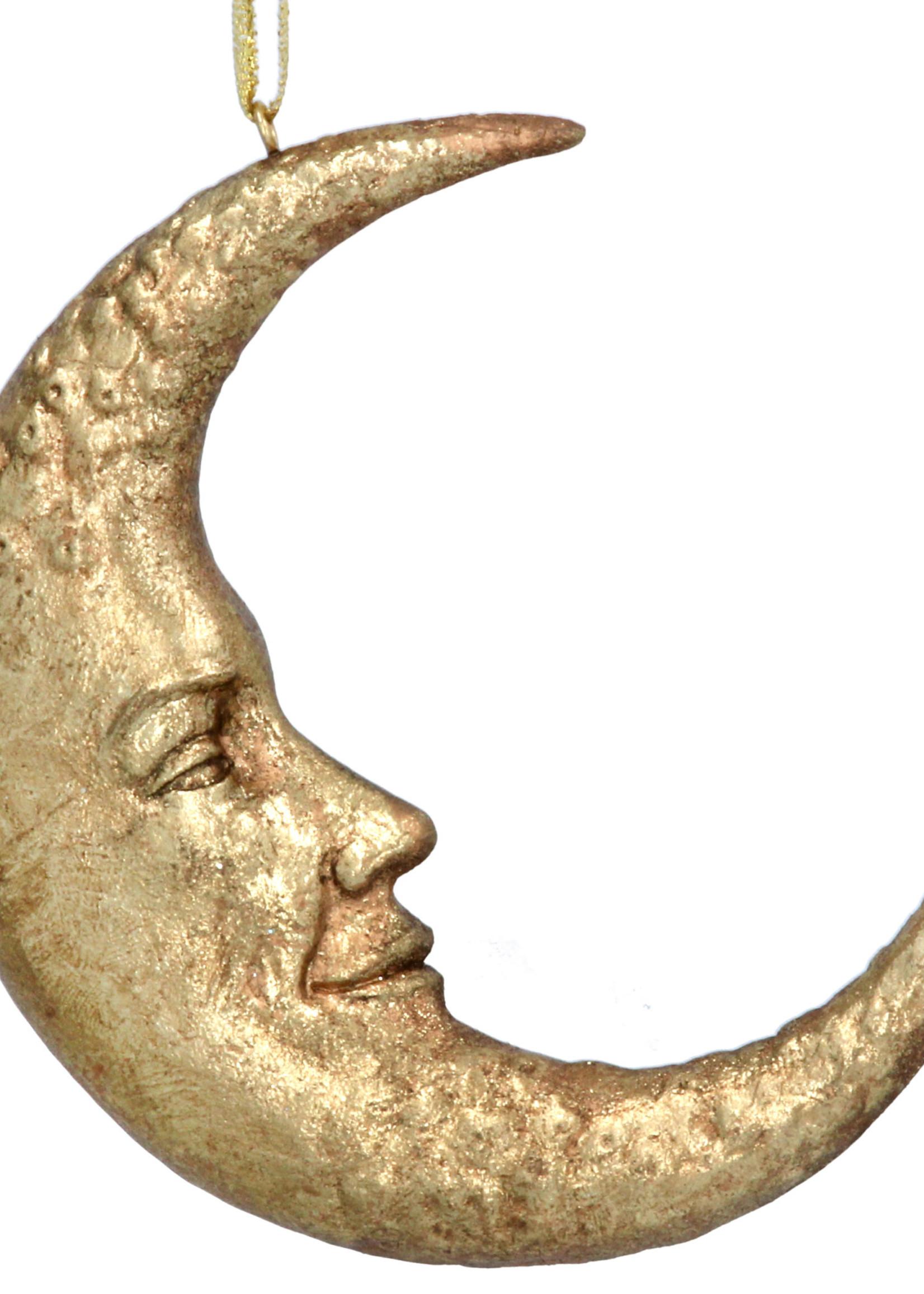 Gisela Graham Hanger MAAN antiek goud