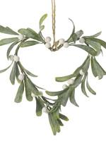 Heaven sends Mistletoe hart