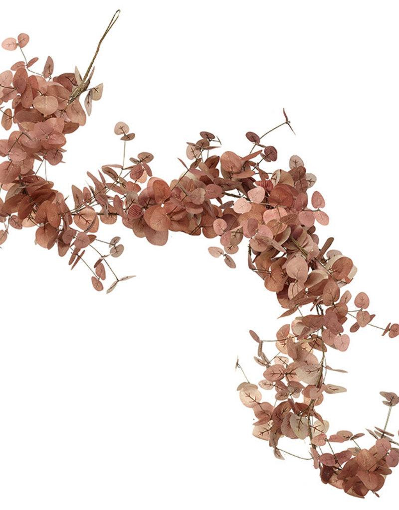 Heaven sends Guirlande van ROZE eucalyptus bladeren