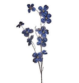 Goodwill Zijden bloemen KORNOELJE blauw