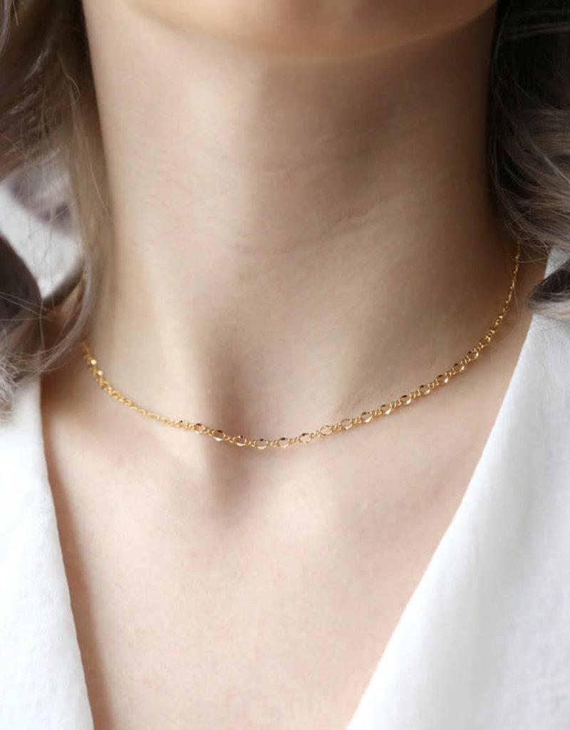 Lisa Angel Ketting kort INFINITY goud
