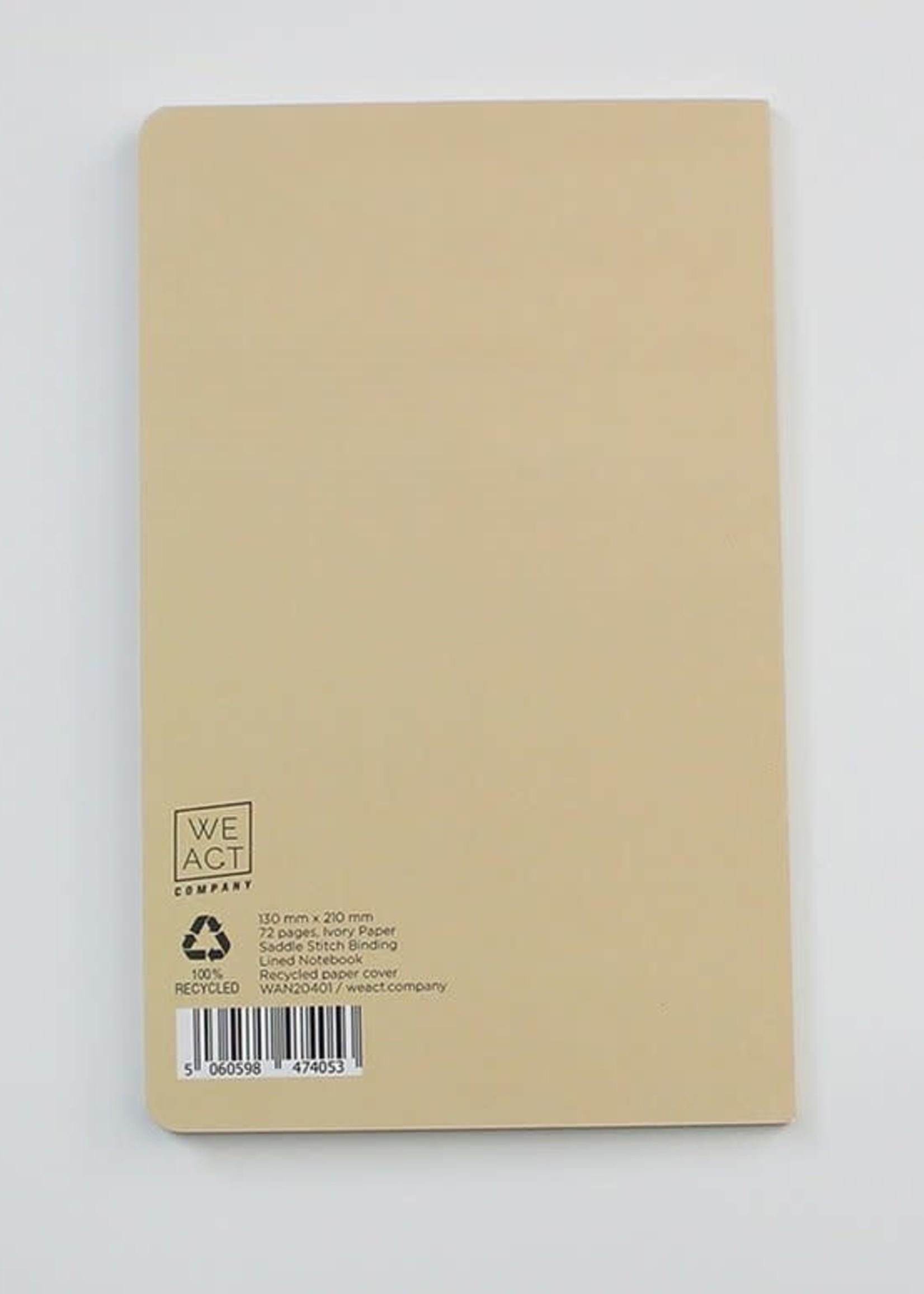 WeAct Schrift notitieboek VLINDERS