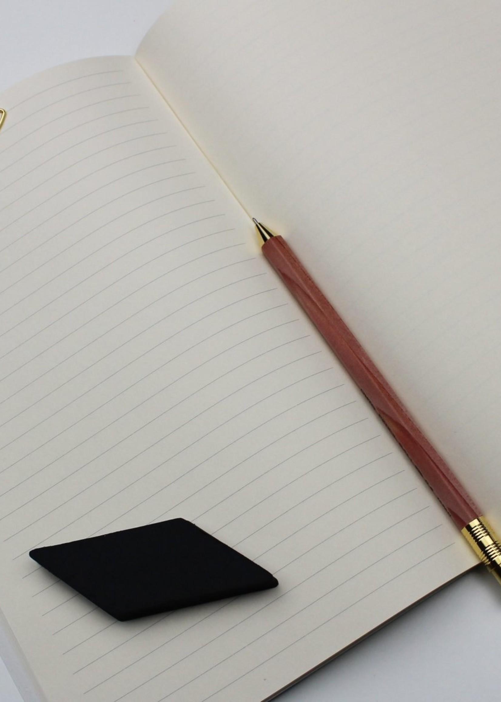 WeAct Schrift notitieboek KAT POES ZWART
