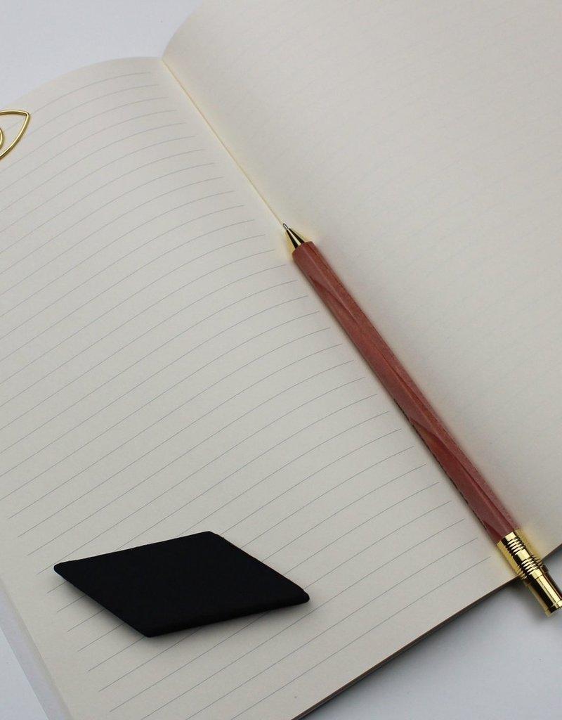 WeAct Schrift notitieboek POES MAAN