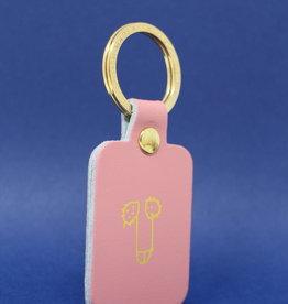 ARK colour design Sleutelhanger WILLY roze