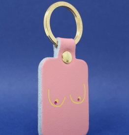 ARK colour design Sleutelhanger BOOBS  roze