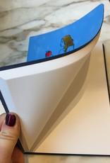 ARK colour design Notitie boek EVA leer Lichtblauw A5