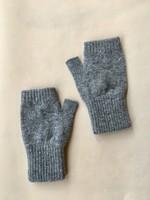 GreenGroveWeavers Handschoen KORT vingerloos LICHT GRIJS