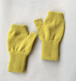 GreenGroveWeavers Handschoen KORT vingerloos  GEEL
