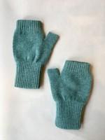 GreenGroveWeavers Handschoen KORT vingerloos  GROEN
