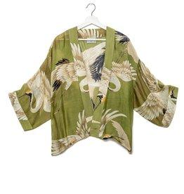 One hundred Stars Kimono OOIEVAAR groen