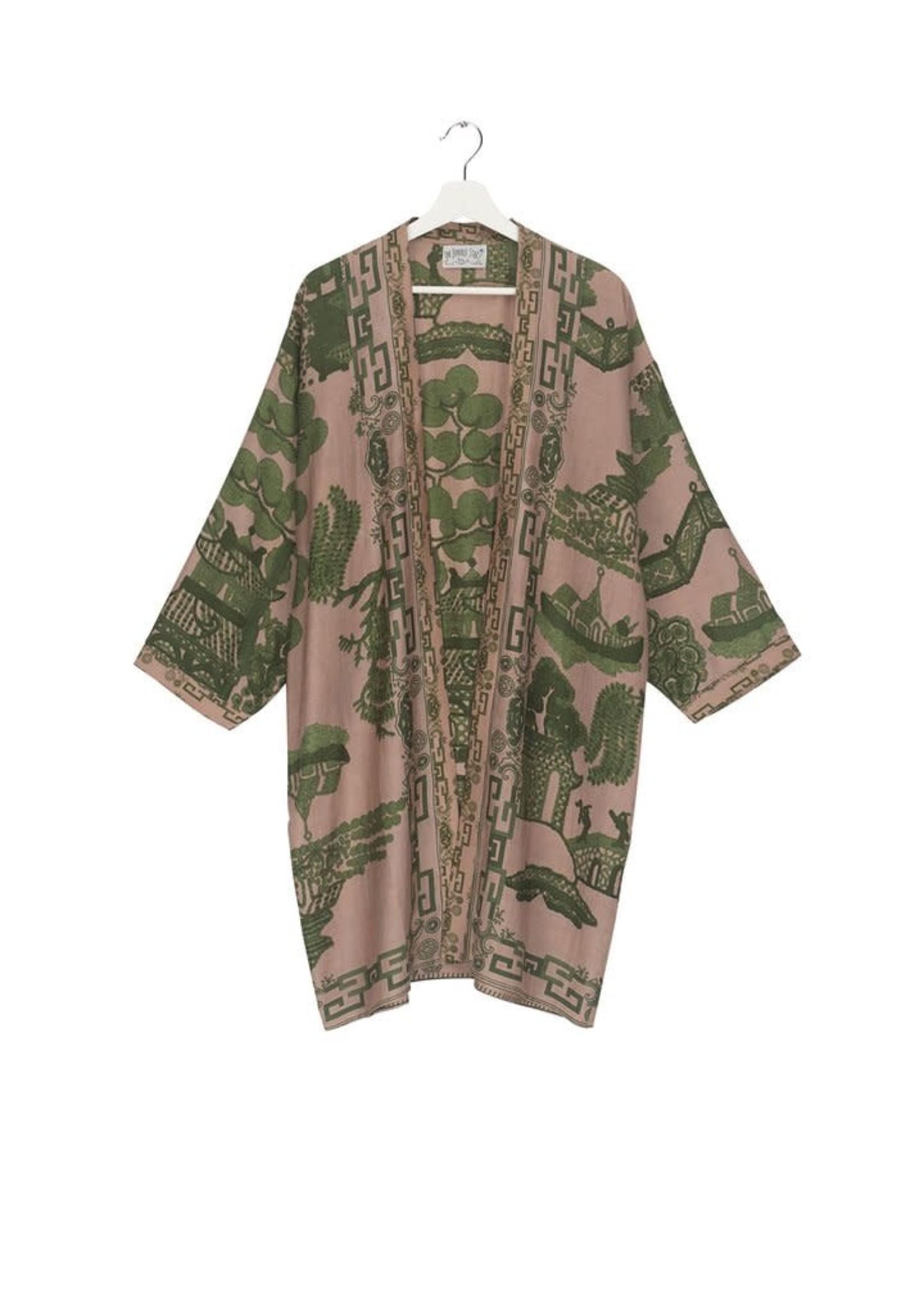 One hundred Stars Kimono GIANT WILLOW groen