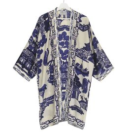 One hundred Stars Kimono GIANT WILLOW blauw