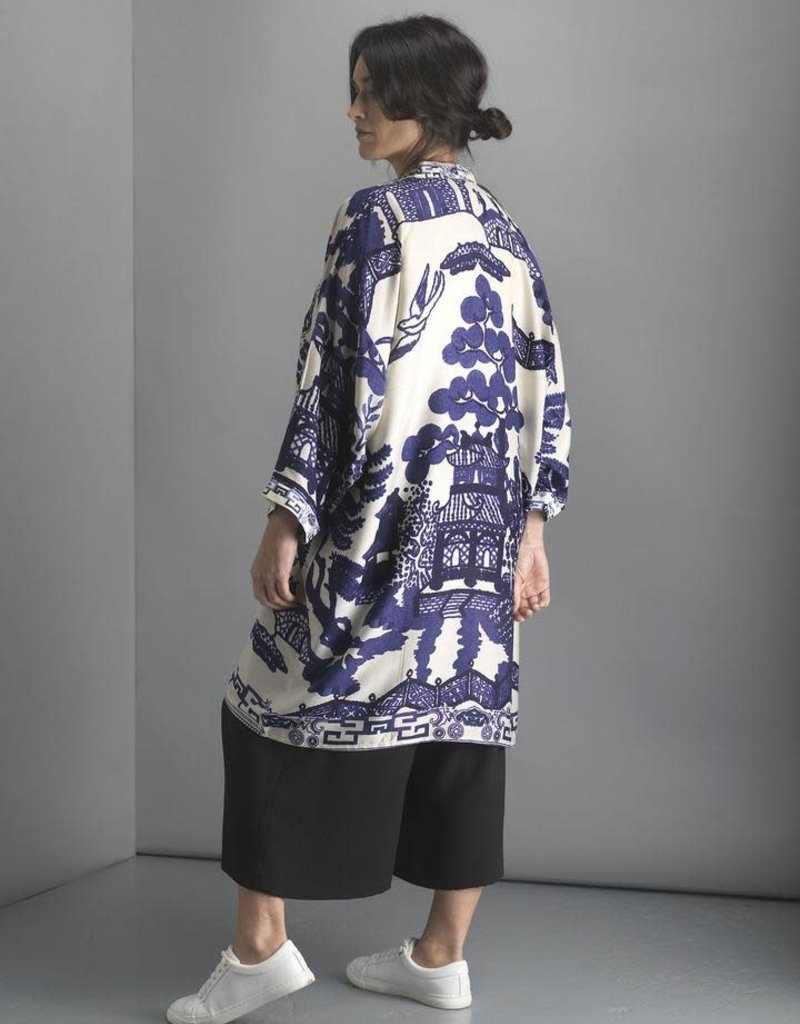 One hundred Stars Kimono GIANT WILLOW blauw