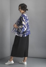 One hundred Stars Korte Kimono GIANT WILLOW blauw