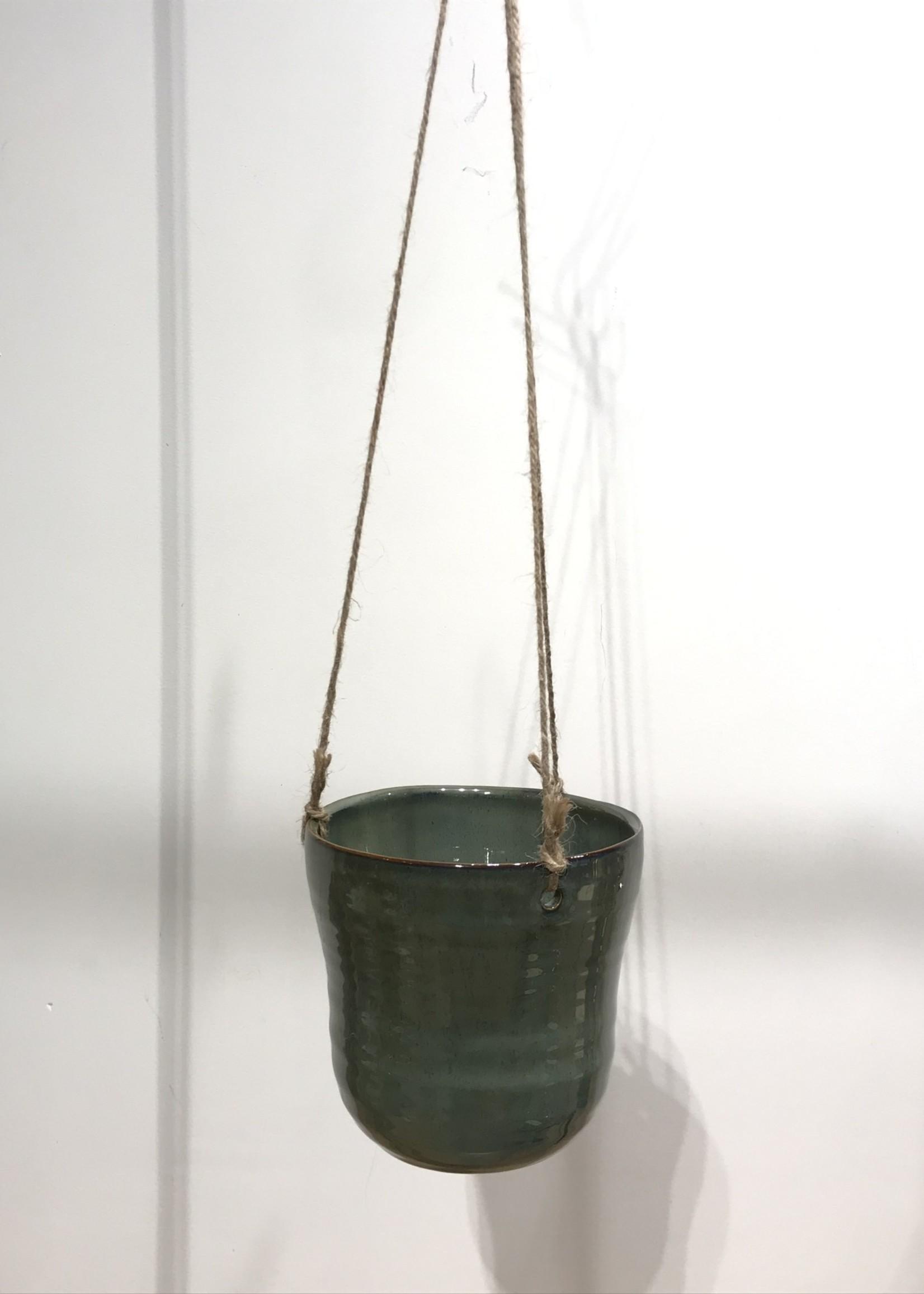 MICA Plant pot hang PETROL