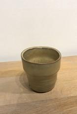 MICA Plant pot mini met rand TAUPE