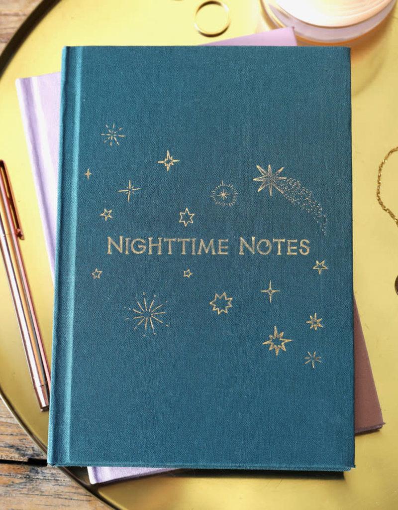 Lisa Angel Notitieboek MORNING notes NIGHT thoughts GROEN