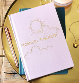Lisa Angel Notitieboek dubbelzijdig MORNING & NIGHT notes ROZE