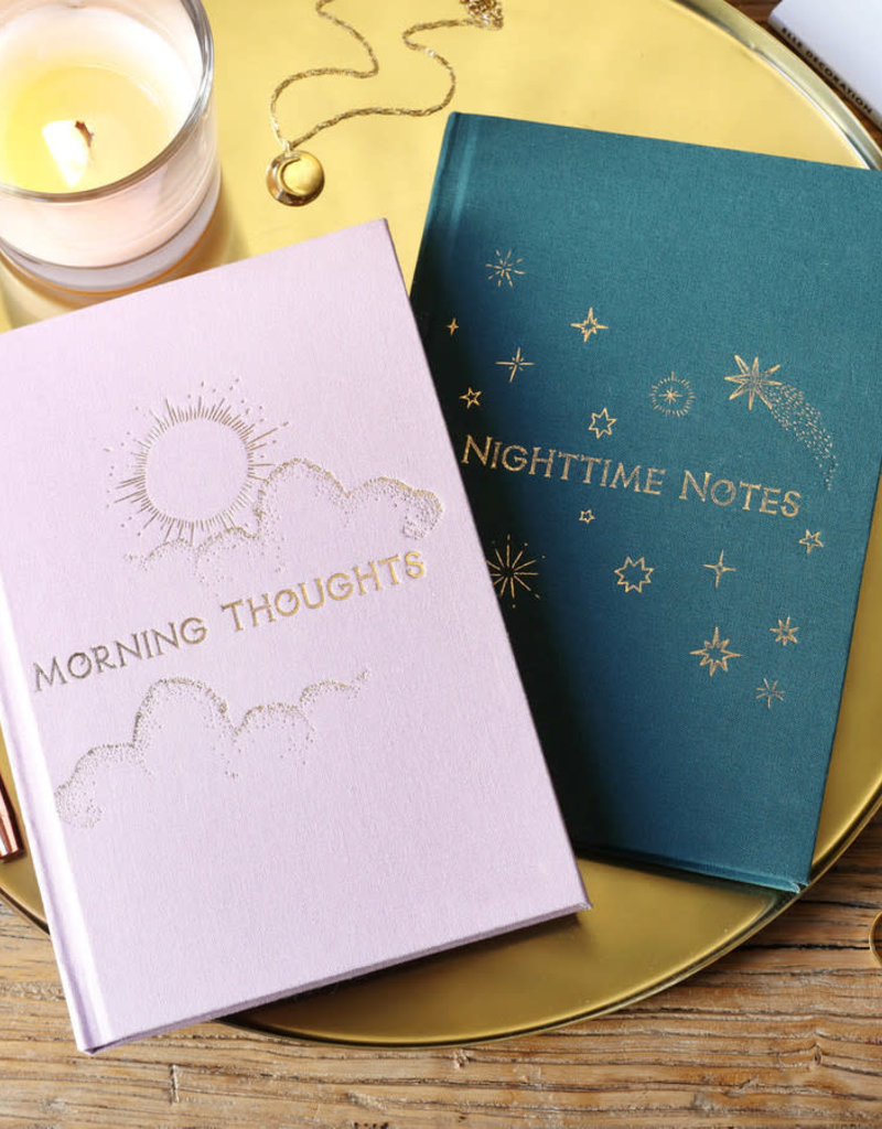 Lisa Angel Notitieboek MORNING notes NIGHT thoughts ROZE
