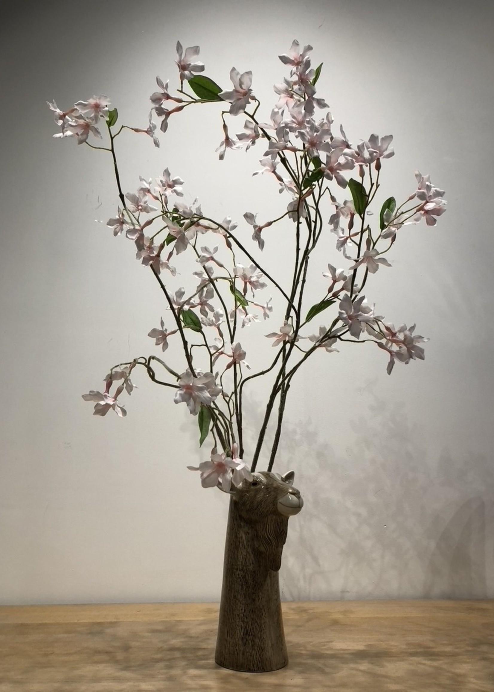 Wauw Zijden bloemen BRUIDSBLOEM roze 94cm