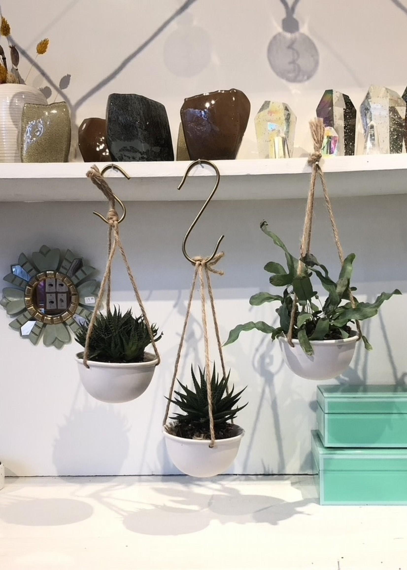 ShiShi Plant pot HANG  wit 7 cm