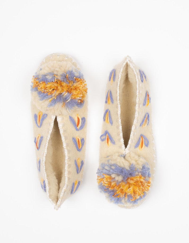 Give a pom Pantoffels ELENI