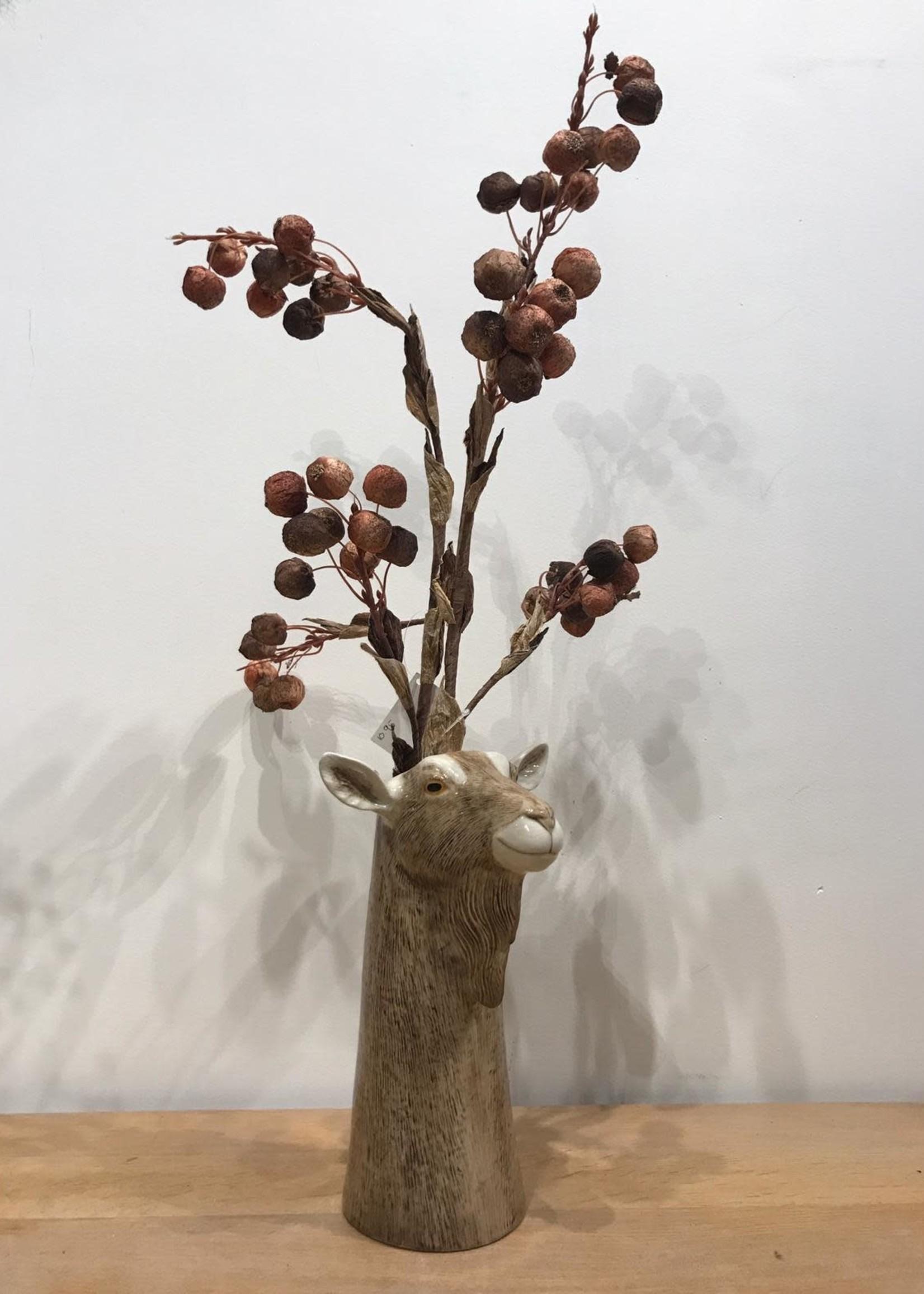 Goodwill Zijden bloemen GEDROOGDE BESJES 80 cm