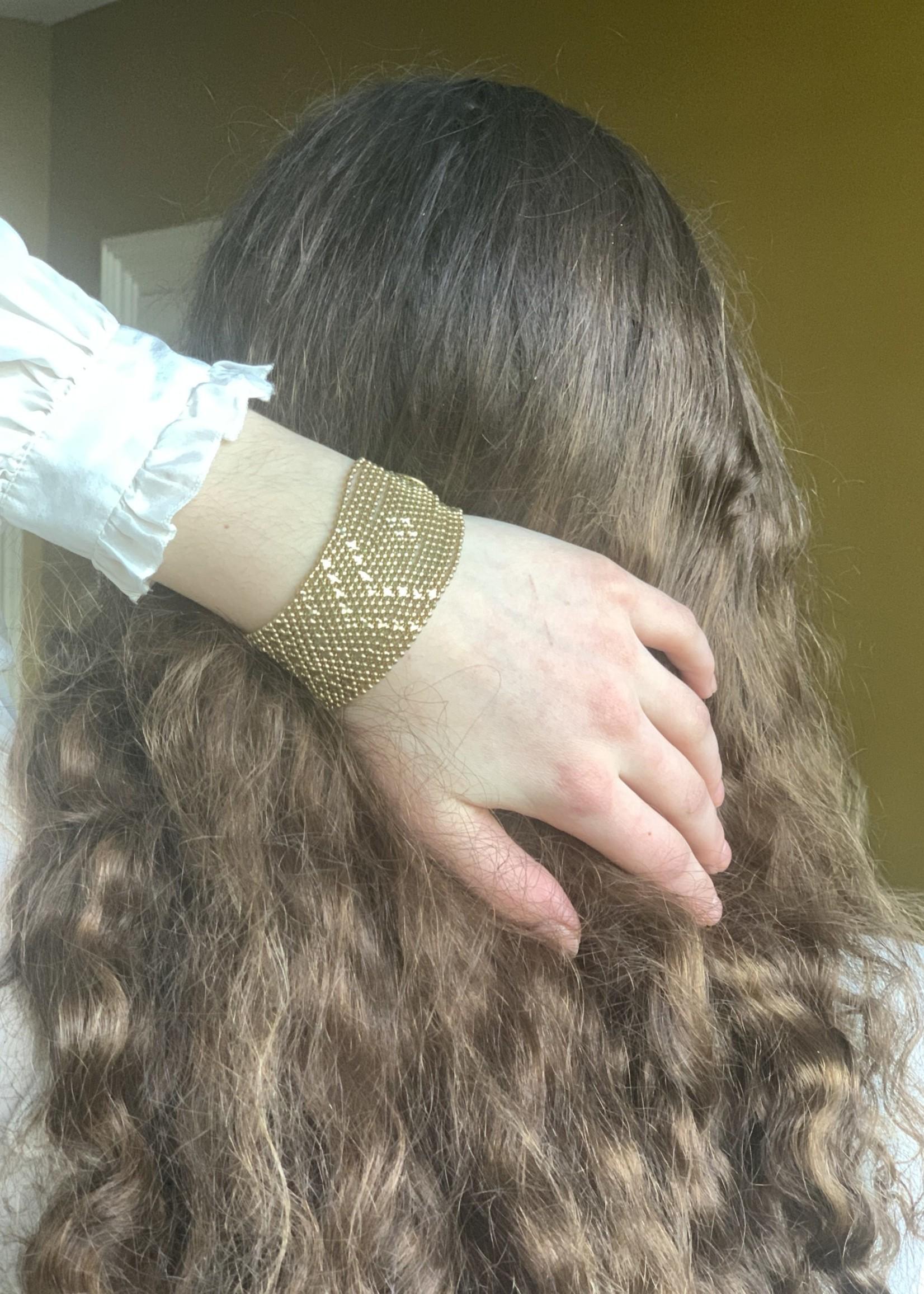 Mondo E Colori Armband 3.5 cm hoog GOUD