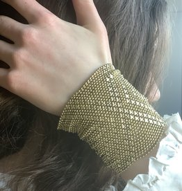 Mondo E Colori Armband 8 cm hoog GOUD