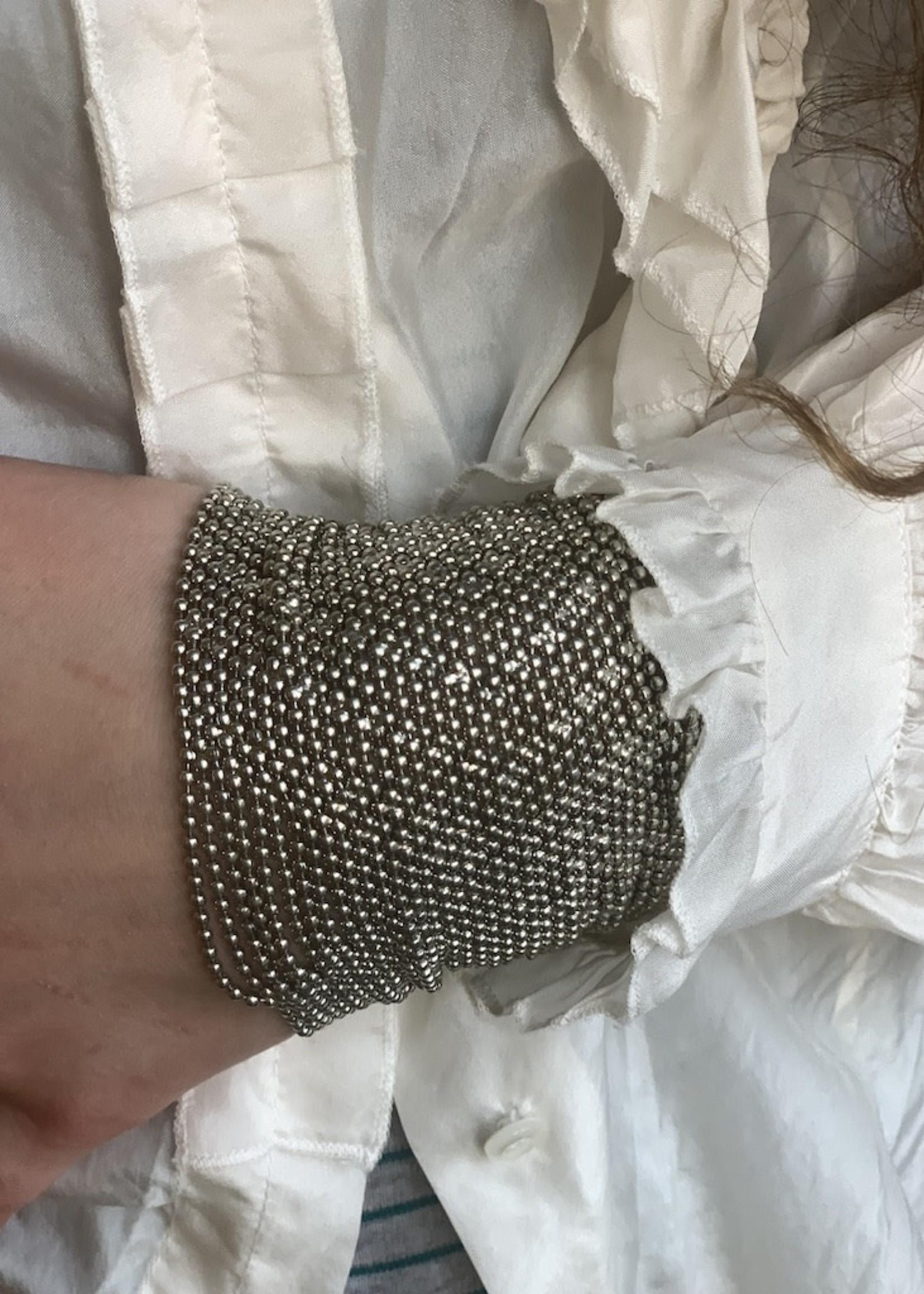 Mondo E Colori Armband 8 cm hoog ZILVER
