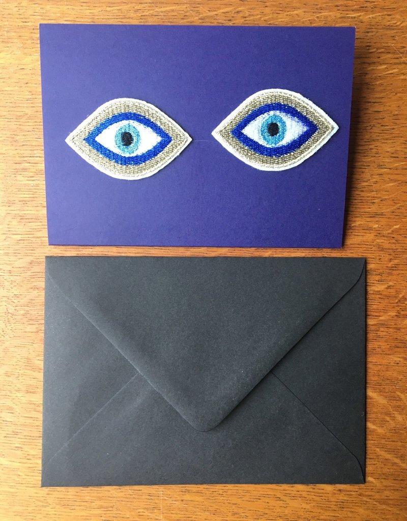 Bazartherapy Kaart met GEBORDUURDE ogen