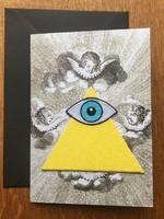 Bazartherapy Kaart met GEBORDUURDE illuminati