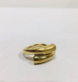 Mondo E Colori Ring draai goud