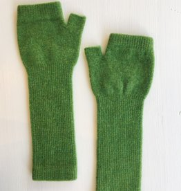 GreenGroveWeavers Handschoen LANG vingerloos GROEN