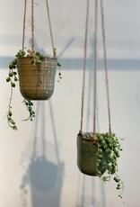 MICA Plant pot mini hang PETROL